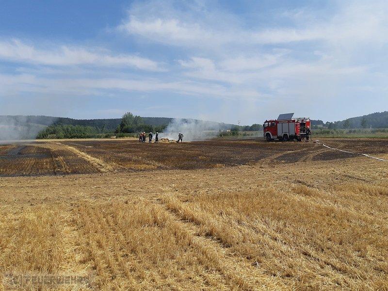 Brandeinsatz vom 08.08.2018  |  (C) Feuerwehr Plößberg (2018)