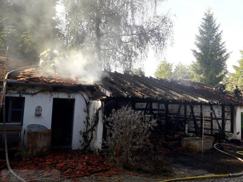 Brandeinsatz vom 01.06.2019  |  (C) Feuerwehr Plößberg (2019)