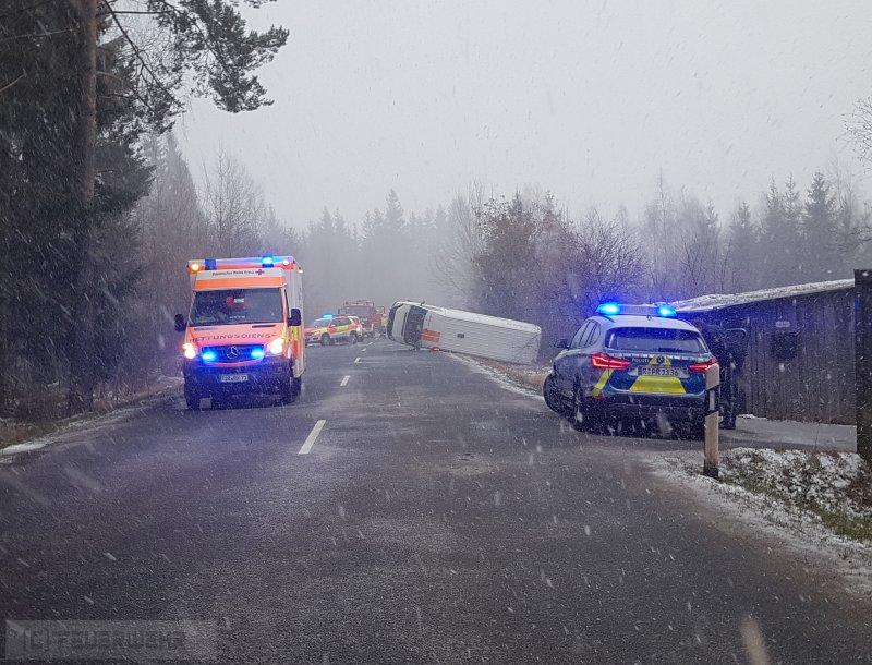 Technische Hilfeleistung vom 11.02.2020  |  (C) Feuerwehr Plößberg (2020)