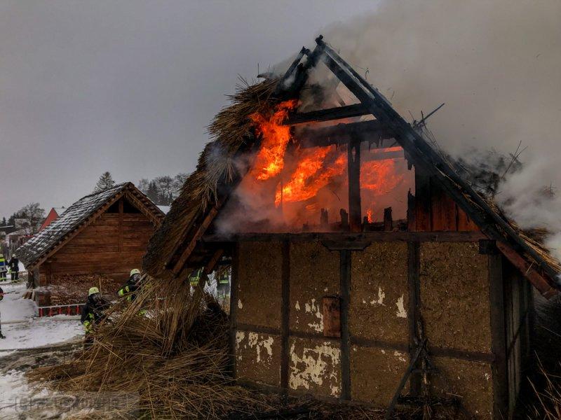 Brandeinsatz vom 26.01.2019  |  (C) Feuerwehr Plößberg (2019)